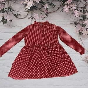 NWOT! 🍂BOOHOO🍂 long sleeve polka dot dress